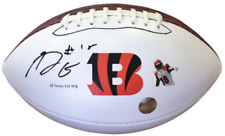 AJ Green Autographed Signed Cincinnati Bengals Photo Logo Football - COA & Holo