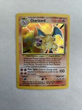 CHARIZARD Base Set 4/102 Unlimited Holo Foil 1999 Pokemon card