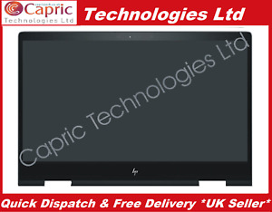 """HP Envy x360 15-bq150na 15.6"""" Touch Screen LCD Display Panel Assembly"""