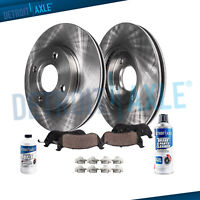 241mm Front Disc Brake Rotors + Ceramic Pads for 2003 2004 2005 Hyundai Accent