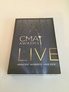 CMA Awards Live Greatest Moments 1968-2015 10 DVD Box Set Country Music SEALED