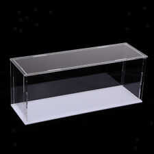 Clear Acrylic Display Case Box for Action Figure Model Doll Toys 28x8x11cm