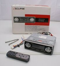 Eclipse CD3000 Motorized Face AM/FM CD Player Stereo Receiver & Remote 3 RCA OUT