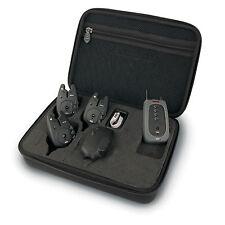 Fox NTX-R Bite Alarm x 3 and Receiver in Presentation Case CEi098 *Brand New*