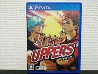 USED PSV UPPERS PS Vita JAPAN Import PlayStation Vita