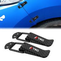 TRD Carbon Fiber Car Bumper Trunk Fender Hatch Lids Quick Release Fastener