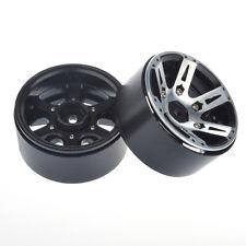 "4X Set 1.9"" Alloy Wheel Rim 12MM Hub for 1/10 RC Car D90 SCX10  Rock Crawler"