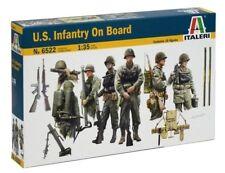 Italeri 1/35 scale U.S. INFANTRY ON BOARD vessel or Landing craft