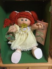 1985 Coleco Cabbage Patch Kid Girl Red Hair Green Eyes.