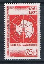 French Antarctic/TAAF 1971 10th Anniversary of Antarctic Treaty SG 71 MNH