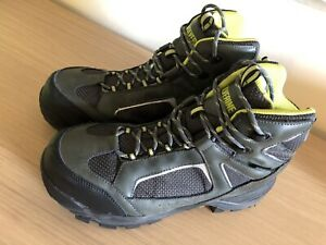 Wolverine Men's Waterproof Steel Toe SD Grey / Black Work Boots sz. 9