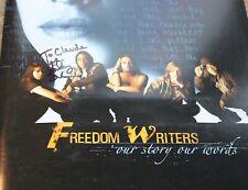 FREEDOM WRITERS Movie Press Kit HAND SIGNED HILARY SWANK ERIN GRUWELL