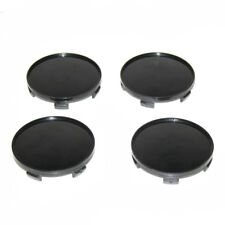 Centre Wheel Tyre Caps 68mm Black Covers For Opel Vauxhall Corsa Astra H Vectra