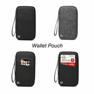 Travel Wallet Pouch Organiser Passport Holder RFID Blocking Waterproof Bag