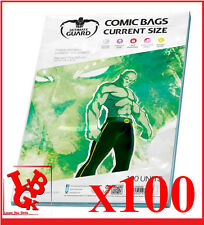 Pochettes Protection comics VO x 100 CURRENT Size Marvel Ultimate Guard # NEUF #