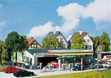 Faller H0 130345: Gas Station with Service Building - Epoch Iii