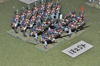 25mm napoleonic / french - infantry 24 figs - inf (18254)