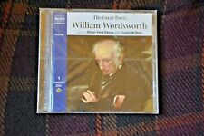 The Great Poets: William Wordsworth, Naxos AudioBooks, NEW & SEALED