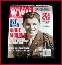 AUDIE MURPHY 8 PGS WWII HERO SECRET WEAPON CHOCOLATE PIN-UPS BASEBALL 2007