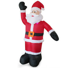 8FT LARGE INFLATABLE SANTA CLAUS FATHER CHRISTMAS XMAS DECORATION OUTDOOR AIR