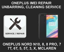 Oneplus IMEI Repair, Unbarring, Cleaning Service, Oneplus Nord 10, 9, 8, 7, Pro