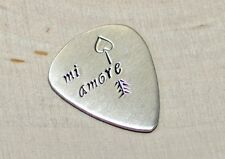Mi Amore Sterling Silver Guitar Pick