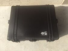 Pelican Hard Water Tight Suitcase Camera Case 1550 w/ Foam Insert Used