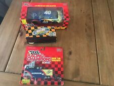 Robby Gordon 3 Car Die Cast Lot 1:24 1:64 #40 Coors   Action  + Racing Champions