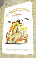 Robert Redford & Paul Newman The Sting  Original  U.S. One Sheet Movie Poster