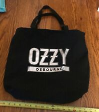 Ozzy Osbourne/ No More Tours 2/ Vip Tote/ Excellent Condition/ Black Sabbath!