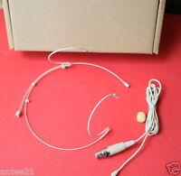 Replaceable Plug Headset Headworn Microphone for Shure UT PGX ULX SLX Wireless