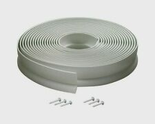 03822 M-D Building 30' Vinyl GARAGE DOOR WEATHERSTRIP Top Sides Draft Gap Seal