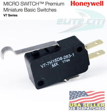 HONEYWELL V7-7H15D8-263-1 Premium Mini Snap Swch,3A,SPDT,Pin NO SEAL PIN PLUNGER