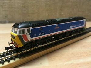 Graham Farish 370-430 Class 47 BR NSE Great Eastern 47581 N Gauge New Ex Set T48