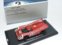 1/43 Scale Porsche 917K 1970 #23 Red Diecast Car Model Collection Toy Gift NIB
