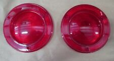 1960-1972 INTERNATIONAL SCOUT 80/800 TAIL LIGHT LENS PAIR - NEW MADE IN U.S.A.