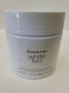ELIZABETH ARDEN White Tea Pure Indulgence Body Cream 13.5oz / 400ml NWOB