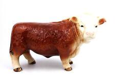 Melba Ware Hereford Ware Bull Ornament Figurine