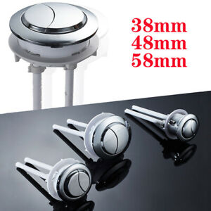 Universal Replacement Dual Flush Push Button Toilet Cistern Flush Water Saving
