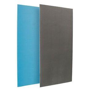 Single Sided Tile Backer Board Insulation Boards Wall Floor Wetroom 1250 x 600