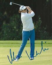 Megan Mcbride signed Lpga 8x10 photo with Coa
