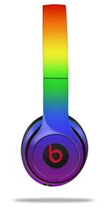 Skin Beats Solo 2 3 Smooth Fades Rainbow Wireless Headphones NOT INCLUDED
