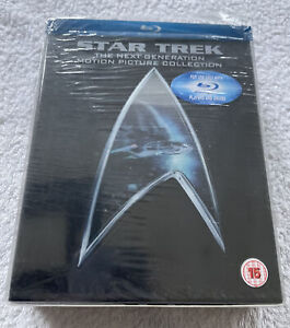 Star Trek: The Next Generation Motion Picture Collection: Region Free Blu-Ray.
