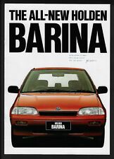 HOLDEN BARINA HATCH 10 PAGE BROCHURE DEC 1988