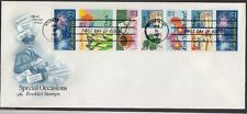 1987 Special Occasions Booklet Stamps 22c Full Pane of 10 Sc 2274a Artcraft FDC