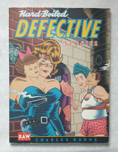 Hard-Boiled Detective Stories  - Charles Burns - Signed with picture drawn