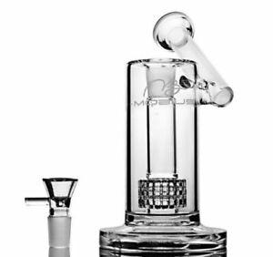 "Mobius 9"" Matrix Perc Glass Sidecar Bubbler Percolator - Discreet Shippment"