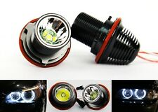 H7 LED Angel Eye Halo Light 10W For BMW 525i 530i M5 645ci 650i 750i 760i 135