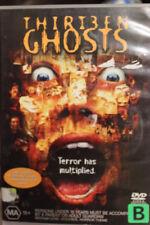 13 THIRTEEN GHOSTS DELETED RARE OOP DVD REGION 4 HORROR MOVIE TONY SHALHOUB
