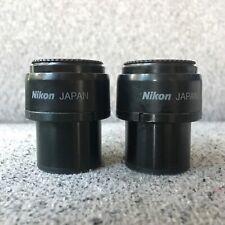 Pair of Nikon CFI 10X/22 Microscope Eyepieces